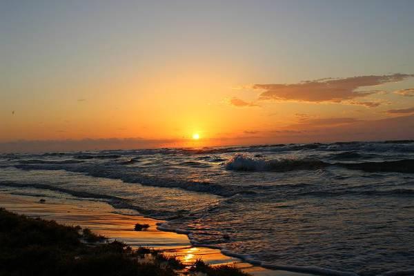 Photograph - Padre Sunrise by Candice Trimble