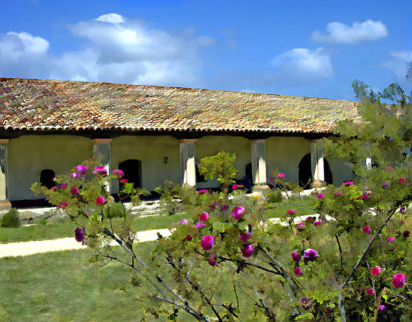 Photograph - Padres Residence La Purisima Mission by Kurt Van Wagner