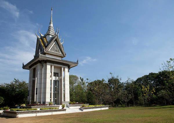 Phnom Penh Wall Art - Photograph - Pagoda At Cheoung Ek, The Killing by Cormac Mccreesh
