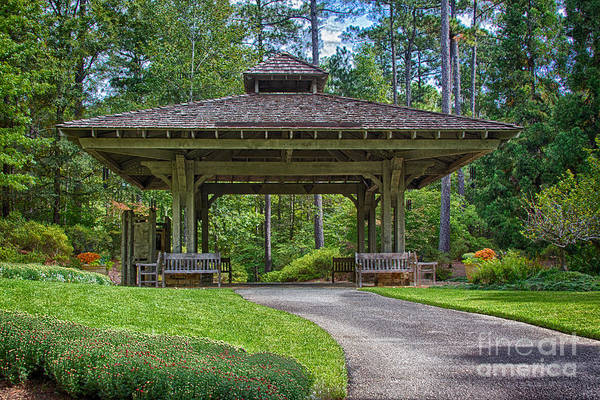Photograph - Pagoda by Heather Roper