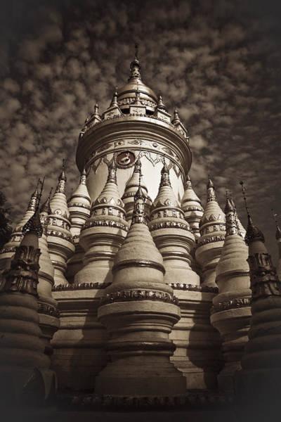 Photograph - Pagoda In Myanmar by Maria Heyens