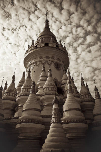 Photograph - Pagoda by Maria Heyens