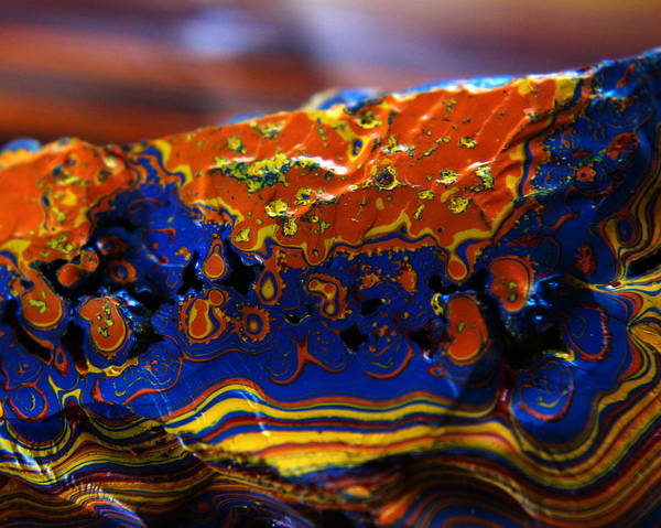 Photograph - Paint Booth Geology 14 by Scott Hovind
