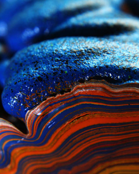 Photograph - Paint Booth Geology 9 by Scott Hovind