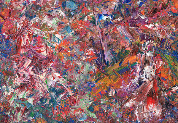 Expressionism Painting - Paint Number 50 by James W Johnson