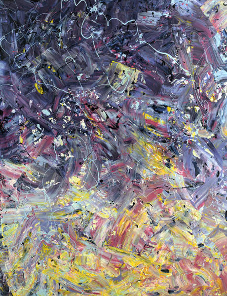 Objective Wall Art - Painting - Paint Number 55 by James W Johnson