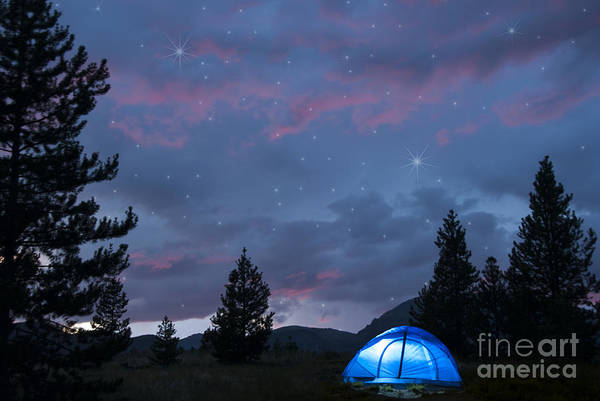 Camping Wall Art - Photograph - Paint The Sky With Stars by Juli Scalzi