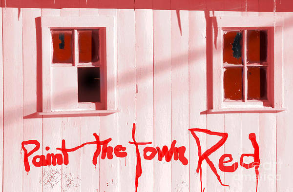 Wall Art - Photograph - Paint The Town by The Stone Age