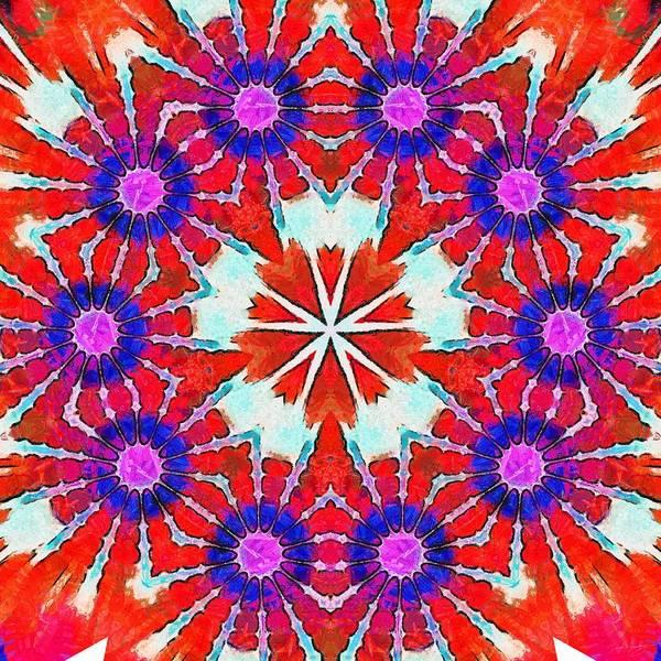 Painting - Painted Cymatics 216.00hz by Derek Gedney