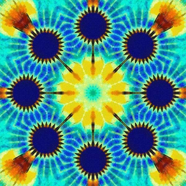 Painting - Painted Cymatics 257.00hz by Derek Gedney