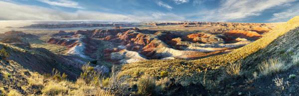 Photograph - Painted Desert  by OLena Art - Lena Owens