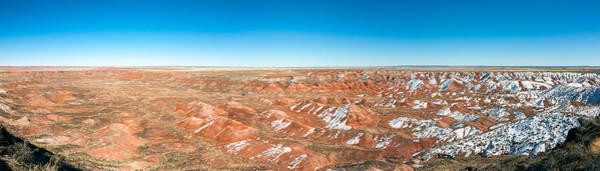 Petrified Forest Photograph - Painted Desert, Petrified Forest by Panoramic Images