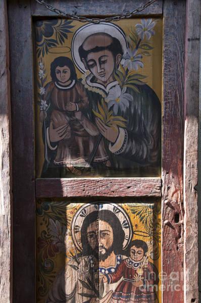 Photograph - Painted Door In San Diego by Brenda Kean