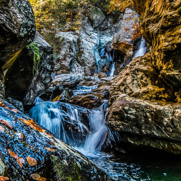 Photograph - Painted Falls by Dave Hahn