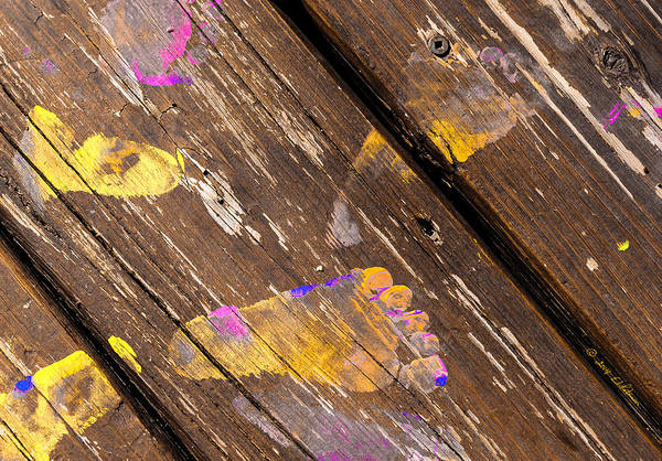 Photograph - Painted Feet by Edward Peterson