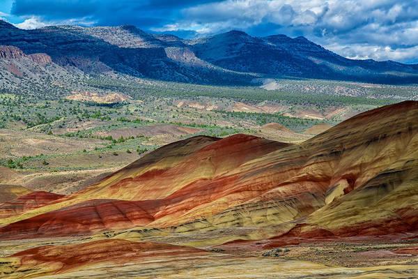 Wall Art - Photograph - Painted Hills I by Robert Bynum
