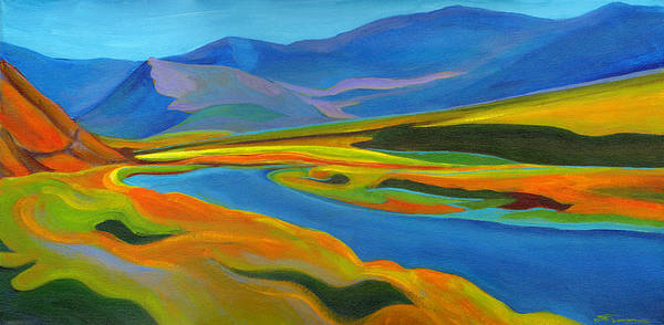 Painting - Painted Hills by Tanya Filichkin