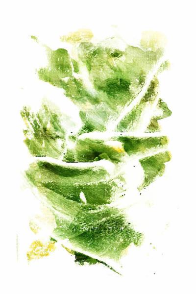 Blondie Digital Art - Painted In Green by Andrea Barbieri