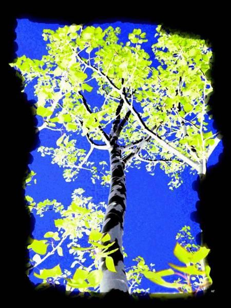 Wall Art - Digital Art - Painted Poplars by Will Borden