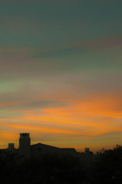 Photograph - Painted Skies Over My City by Ben and Raisa Gertsberg