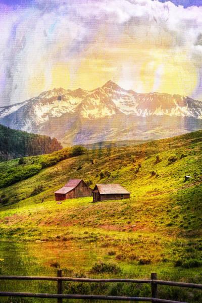 Digital Art - Painted Sunlight by Rick Wicker
