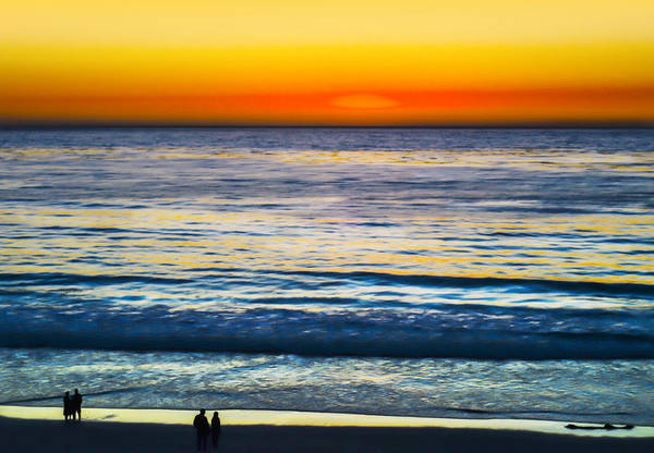 Sun Set Photograph - Painted Sunset by Camille Lopez