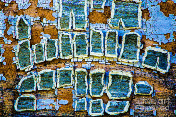 Photograph - Painted Windows Number 2 by Michael Arend
