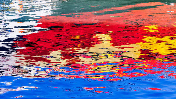 Photograph - Painterly Reflections by Alexander Fedin
