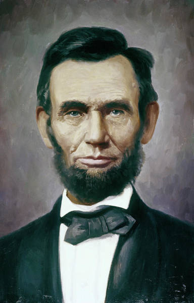 Honest Painting - Painting Abraham Lincoln 16th President by Vintage Images