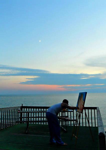 Photograph - Painting Feels Good by Cyryn Fyrcyd
