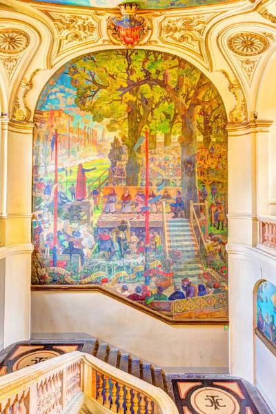 Exuberance Photograph - Painting In Capitole De Toulouse by Semmick Photo