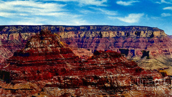 Painting - Painting The Grand Canyon National Park by Bob and Nadine Johnston