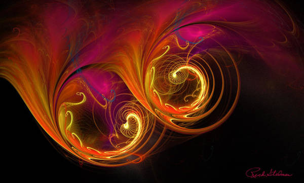 Digital Art - Painting With Light by Rich Stedman