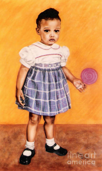 Painting - Paintings By Monica C. Stovall - Pastel Portrait Collection No. Pp16 by Monica C Stovall