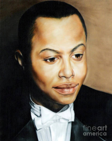 Painting - Paintings By Monica C. Stovall - Pastel Portrait Collection No. Pp17 by Monica C Stovall