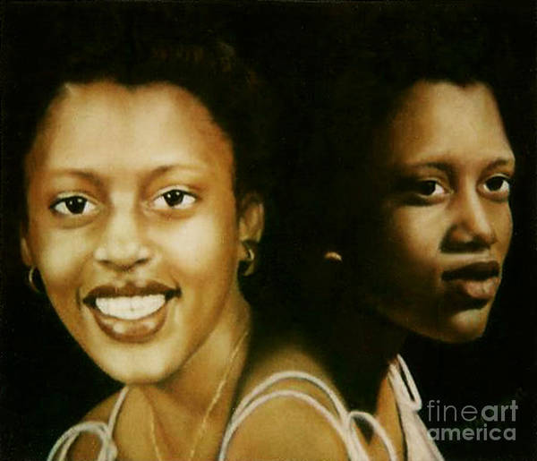 Painting - Paintings By Monica C. Stovall - Pastel Portrait Collection No. Pp31 by Monica C Stovall