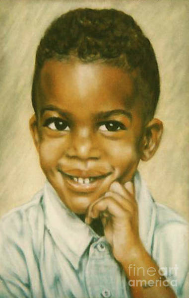 Painting - Paintings By Monica C. Stovall - Pastel Portrait Collection No. Pp40 by Monica C Stovall