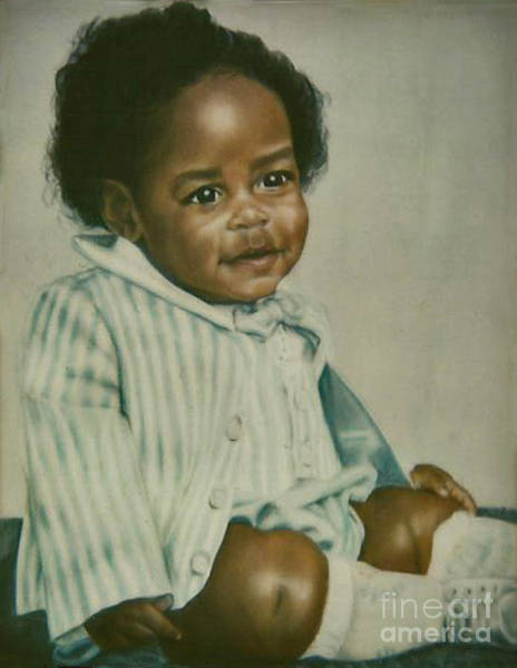 Painting - Paintings By Monica C. Stovall - Pastel Portrait Collection No. Pp47 by Monica C Stovall