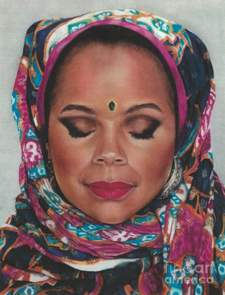 Painting - Paintings By Monica C. Stovall - Pastel Portrait No. Pp17 by Monica C Stovall