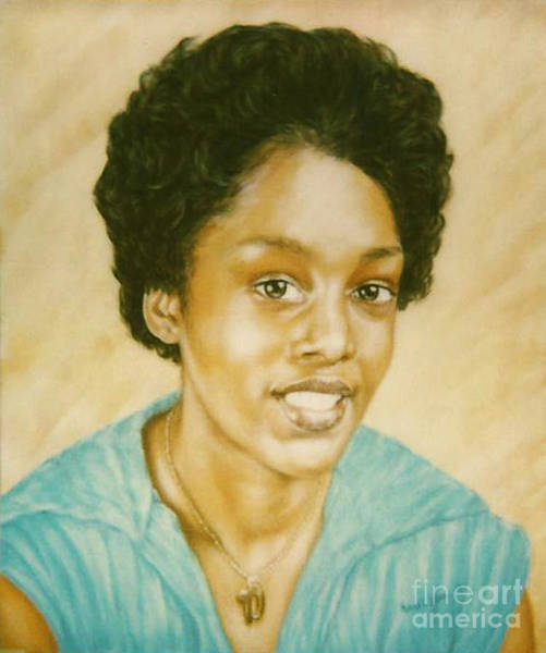 Painting - Paintings By Monica C. Stovall - Pastel Portrait Painting No. Pp35 by Monica C Stovall