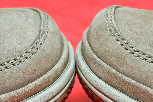 Trainer Photograph - Pair Of Shoes by Tom Gowanlock
