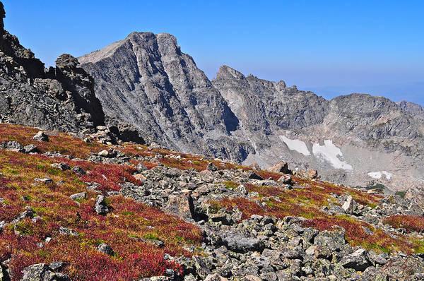 Indian Peaks Wilderness Photograph - Paiute Peak by Aaron Spong