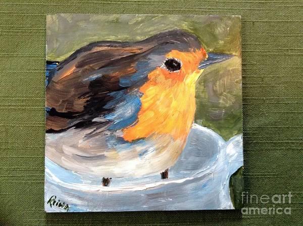 Painting - Pajarito  by Reina Resto
