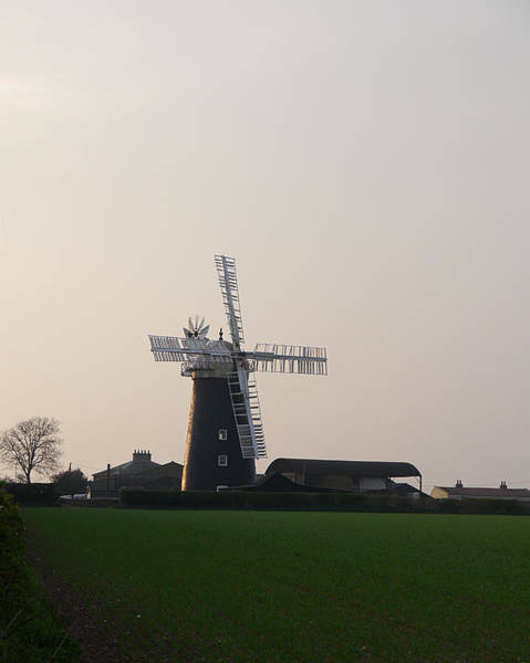 Photograph - Pakenham Windmill 1 by Richard Reeve