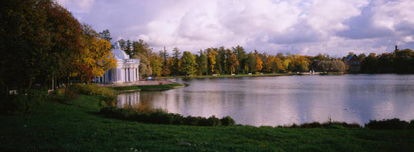Grottos Photograph - Palace At The Lakeside, Catherine by Panoramic Images