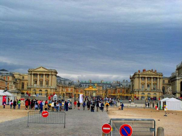 Photograph - Palace At Versaille by Cleaster Cotton
