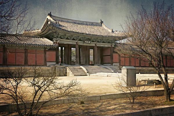 Photograph - Palace Gate At Changgyeonggung by Joan Carroll