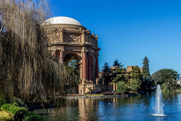 Wall Art - Photograph - Palace Of Fine Arts In Color by Bill Gallagher