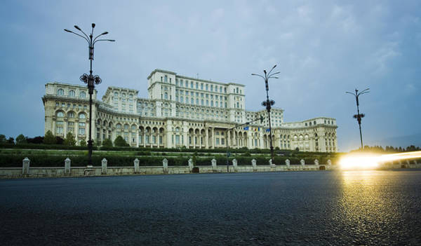 Ceausescu Wall Art - Photograph - Palace Of Parliament by Ioan Panaite