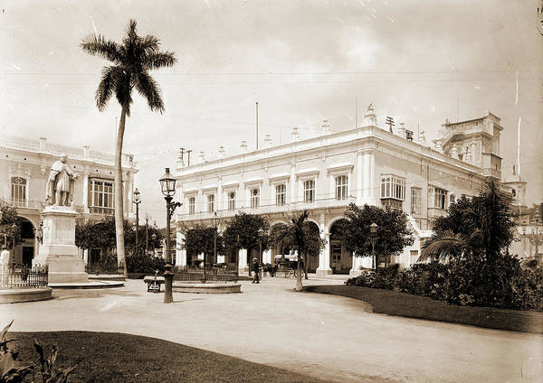 Wall Art - Drawing - Palace Of The Military Governor, Havana, Official Residences by Litz Collection